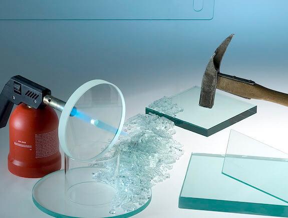 Hærdet sikkerhedsglas til beskyttelsesglas