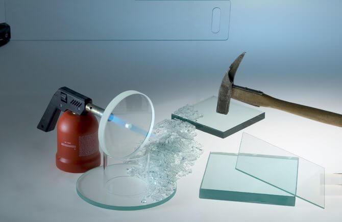 Hærdet glas – høj brudstyrke