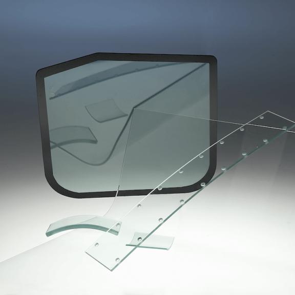 Buet og hærdet glas – til erhverv og industri