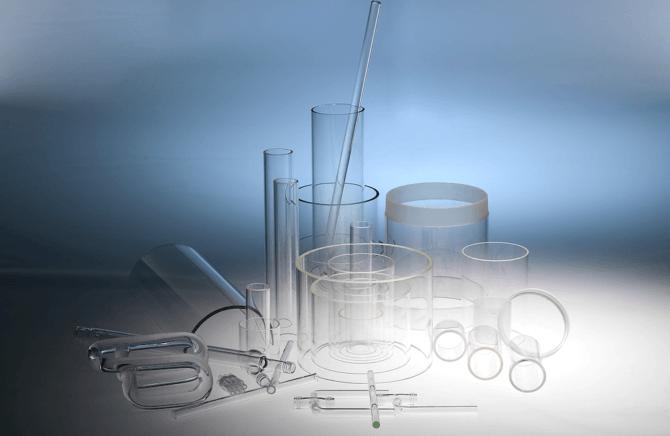 Glasrør og glasstænger – til erhverv og industri
